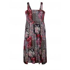 Jersey-Kleid Janet & Joyce bunt bedruckt