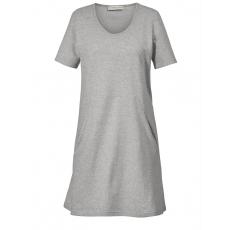 Jersey-Kleid Janet & Joyce grau melange