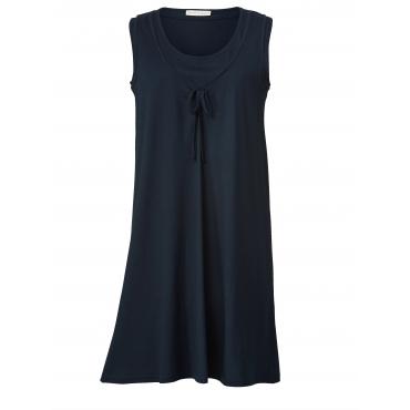 Jersey-Kleid Janet & Joyce Marineblau