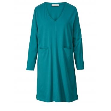 Jersey-Kleid Janet & Joyce Petrol