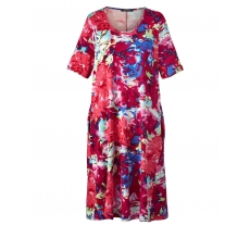 Jersey-Kleid mit Blumendruck Sara Lindholm gemustert