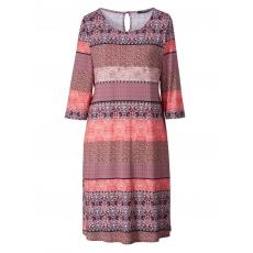 Jersey-Kleid mit Ethno-Print Sara Lindholm gemustert