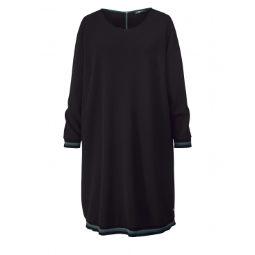 Jersey-Kleid No Secret Schwarz