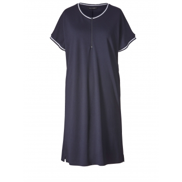 Jersey-Kleid Sara Lindholm Marineblau