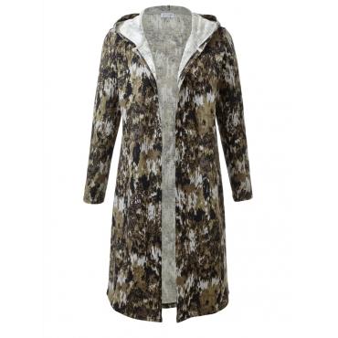 Jersey-Mantel mit Kapuze Angel of Style camouflage
