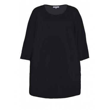 Jersey-Tunika in Oversize-Form Zhenzi Anthrazit