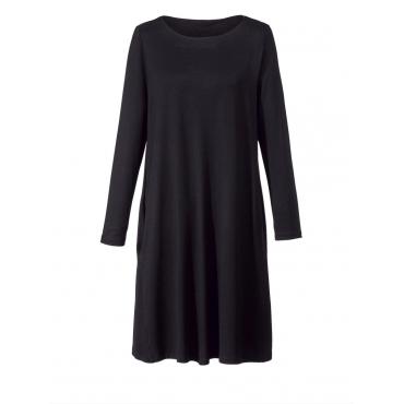 Kleid A-Shape Sara Lindholm schwarz