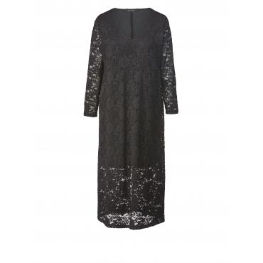 Kleid aus Spitze Sara Lindholm Schwarz
