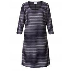 Kleid geringelt mit Pailletten Junarose blau geringelt