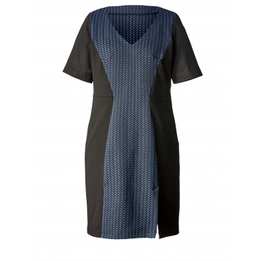 Kleid Mable for Happy Size Schwarz