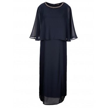 Kleid MIAMODA Marineblau