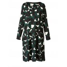 Kleid mit Allover-Print Sara Lindholm gemustert