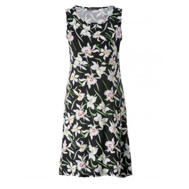 Kleid mit Blumen-Print Sara Lindholm gemustert