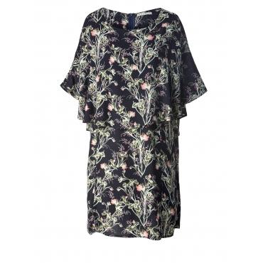 Kleid mit Blumen-Print Studio Schwarz