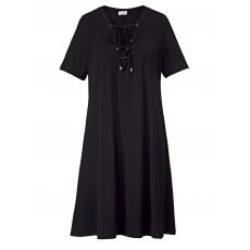 Kleid mit Lace-Up-Schnürung Angel of Style schwarz