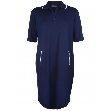 Kleid mit Polokragen seeyou navy
