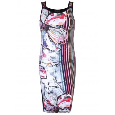 Kleid mit Print Doris Streich multicolor