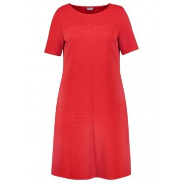 Kleid mit Ripp-Struktur Samoon Maple