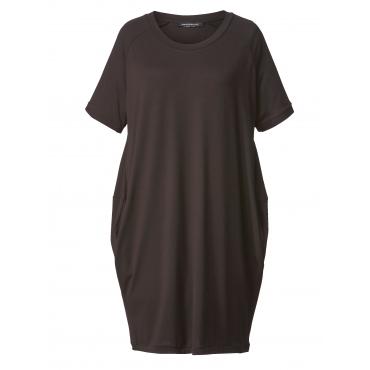 Jersey-Kleid Sara Lindholm Schwarz