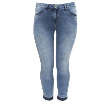Lässige Jeans mit Farbkontrast Frapp light denim blue