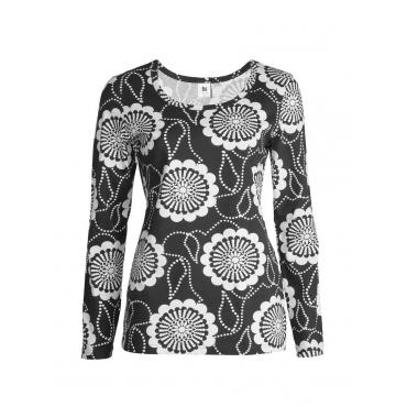 Langarm-Shirt Nanso schwarz