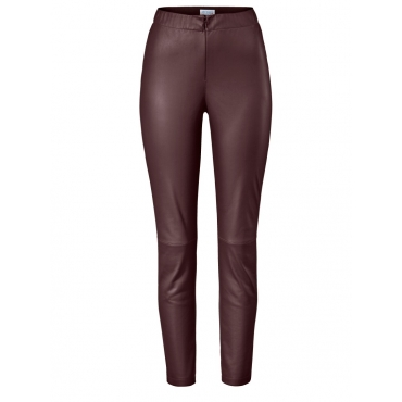 Leggings aus Lederimitat Angel of Style bordeaux