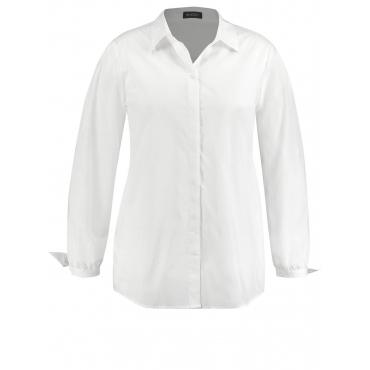 Leicht ausgestellte Bluse mit Knoten-Detail Samoon Off-white