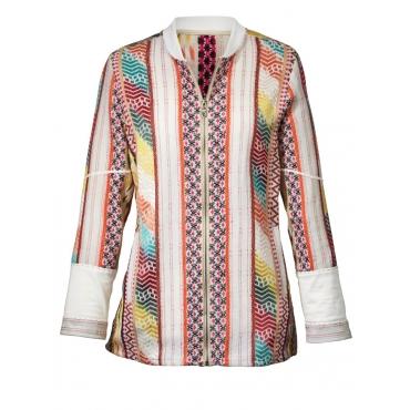 Leichte Brokat-Jacke mit Perlen Angel of Style bunt