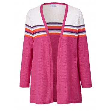 Long-Strickjacke Angel of Style Pink