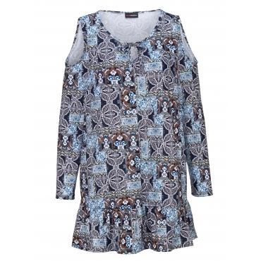 Longshirt MIAMODA Blau