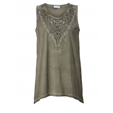 Longtop oil wash Angel of Style khaki oil wash