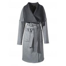 Mantel Langarm APART grau melange