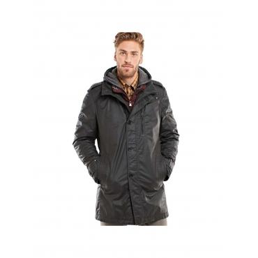 Mantel mit hochwertiger Beschichtung Engbers Granitgrau