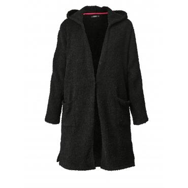 Mantel mit Kapuze Frapp Anthrazit