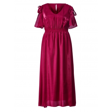 Maxikleid Mable for Happy Size Beere
