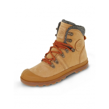 Pallabrouse Hiker Boots Palladium Braun