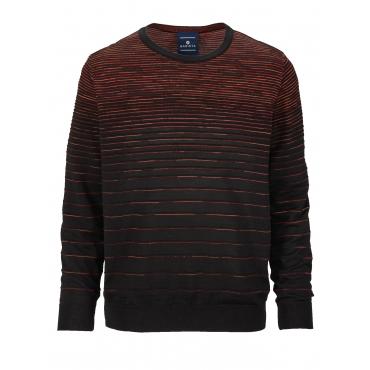 Pullover BABISTA schwarz-orange