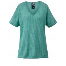 Pullover Frapp jade-grün/silber