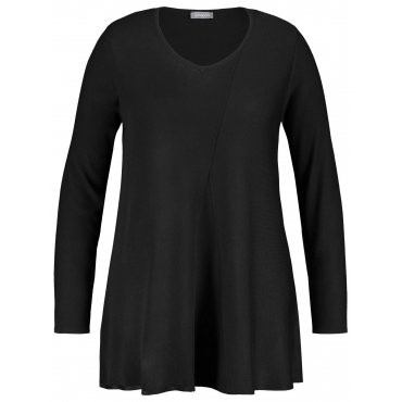 Pullover in A-Linie Samoon Navy