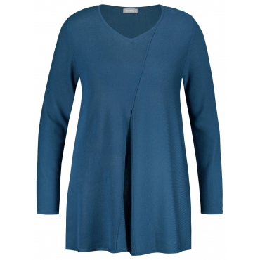 Pullover in A-Linie Samoon Vibrant Teal