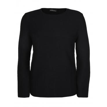 Pullover in langer Passform seeyou schwarz