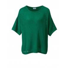 Pullover in Oversize-Form Angel of Style grün