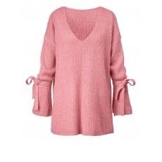 Pullover in Oversize-Form Angel of Style rosa