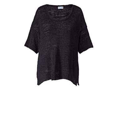 Pullover in Oversize-Form Angel of Style schwarz
