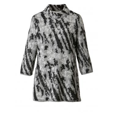Pullover Janet & Joyce grau-schwarz