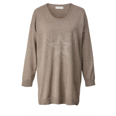 Pullover Janet & Joyce taupe