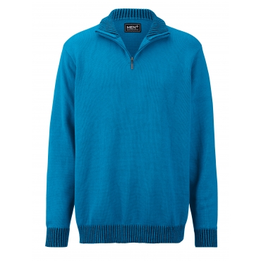 Pullover Men Plus azur/marine