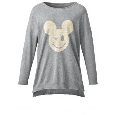 Pullover Mickey grau-melange