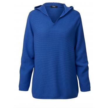 Pullover mit Kapuze Frapp Blau