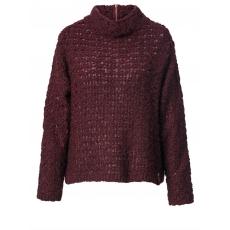Pullover No Secret bordeaux